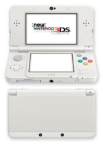 New Nintendo 3DS Console (White)