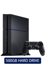 500GB PlayStation 4 Console
