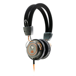 Ministry of Sound 006 Headphones - Black & Orange
