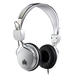 Ministry of Sound 004 Headphones - Silver & Black