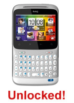 HTC Cha Cha (Silver) - UNLOCKED - Online Only!