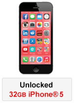 iPhone® 5 32GB Unlocked - Black (Refurbished by EB Games) (preowned)