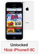 iPhone® 5C 16GB - White (Refurbished by EB Games)