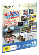 PS Vita Mega Pack 16GB