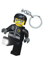 LEGO Movie Bad Cop Light up Keyring