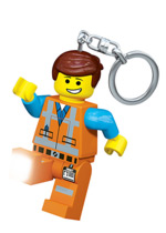 LEGO Movie Emmet Light up Keyring