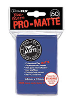 Ultra Pro Card Sleeves - Pro Matte: Blue (50 Pack)