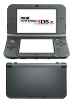 New Nintendo 3DS XL Console (Metallic Black)