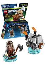 LEGO Dimensions Fun Pack - Lord of the Rings Gimli