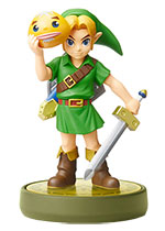 Nintendo amiibo (The Legend of Zelda: Breath of the Wild) - Link (Majora's Mask) Character Figure (Preorder for Second Shipment)