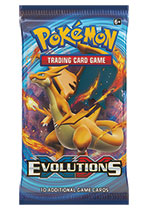 Pokemon Trading Card Game - XY Evolutions Booster Pack