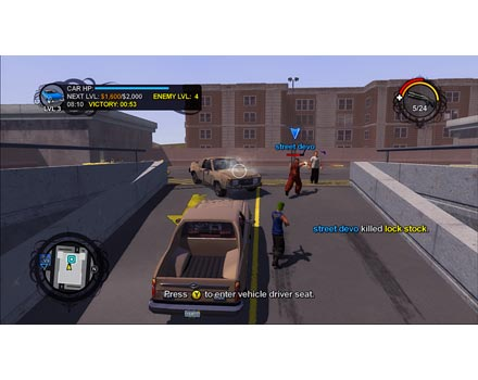 how to play multiplayer on saints row 2 xbox 360